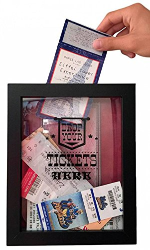 Memory Box Storage for Theater Tickets