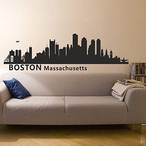 boston skyline decal - 4