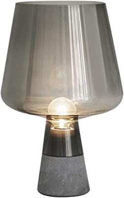 XXYHYQHJD Table Lamps Retro Smoke Gray