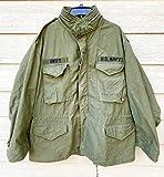Vintage 1969 Vietnam War Era Genuine USGI Coat Cold Weather Field OG-107 M-65 Jacket - X-Large Regular.