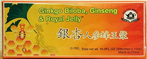 Ginkgo Biloba, Ginseng & Royal Jelly Dietary Supplement. MTC
