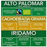 ESE Kaffeepads Test 100% Arabica Gemischte Packung: Bio Alto Palomar, Iridamo, Cachoeira da Grama | 30 x 44mm