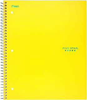 Best yellow 5 subject spiral notebook Reviews