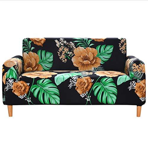 NBGF Fundas de cojín de asiento de sofá, impermeables, impermeables, lavables y de tela (tamaño: S (90 – 140 cm)