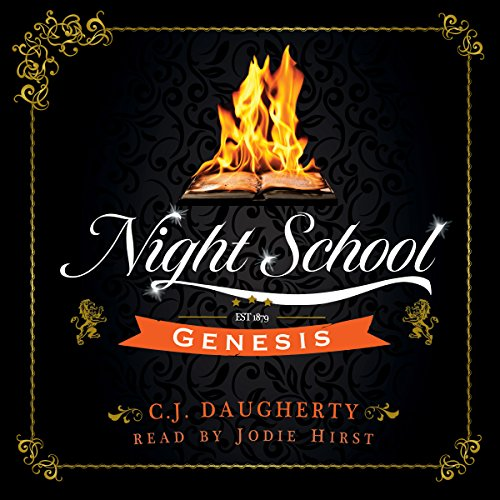 Night School: Genesis audiobook cover art