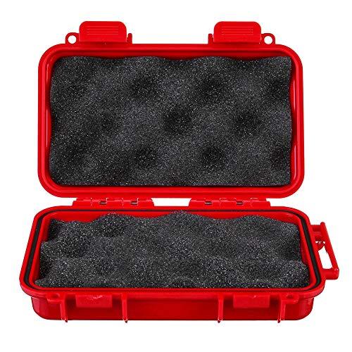 Caja de herramientas portátil impermeable hermética supervivencia almacenamiento contenedor pesca llevar caja de herramientas para herramientas y piezas pequeñas