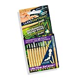 Bamboo Interdental Brush Picks - Variety Pack - Eco Friendly, Biodegradable, Vegan by WooBamboo!