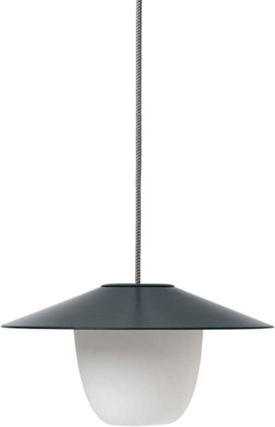 Blomus ANI LAMP 3 In 1 Rechargeable LED Lamp Magnet Charcoal