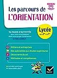 Carnet de l'Orientation - Lycée - cahier de l'élève