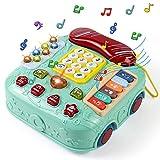 Giochi Montessori Telefono Giocattolo per Bambini Lingua Inglese Musicali Centro Gioco attività...