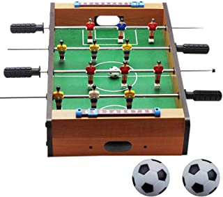 SODIAL New Plastic Foosball Table Football Soccer Ball Football Foosball Sport Gifts Round Indoor Game