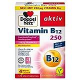 Doppelherz Vitamin B12 – Vitamin B12 trägt zur Verringerung von Müdigkeit und Erschöpfung bei – 120 Mini-Tabletten