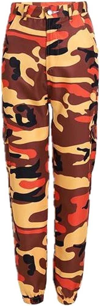 NP Women's Camouflage Print Pants Multicolor Casual Pants