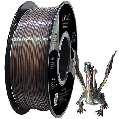 ERYONE Lagoonbow Rainbow PLA 1.75mm Filament for 3D Printer 1kg