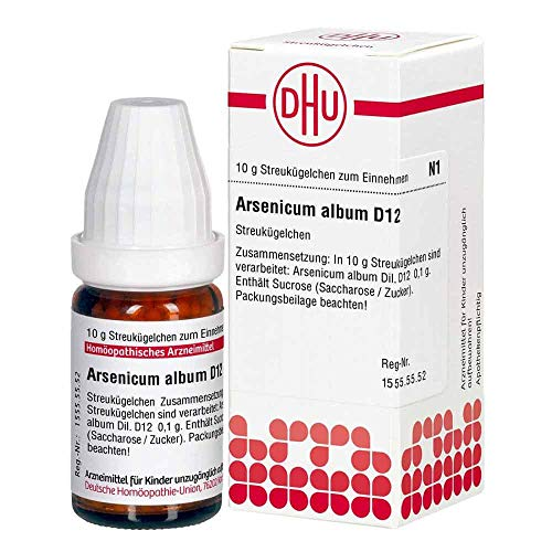 DHU Arsenicum album D12 Globuli, 10 g Globuli