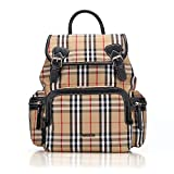 Vogshow Waterproof Diaper Bag, Multifunction Stylish Travel Backpack Maternity Nappy Bag for Baby Care, Large and Durable (Beige Plaid)