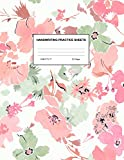 Handwriting Practice Sheets: Cute Blank Lined Paper Notebook for Writing Exercise and Cursive Worksheets - Perfect Workbook for Preschool, ... 3rd and 4th Grade Kids - Product Code A4 9398