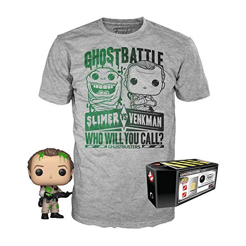 Funko Ghostbusters POP! & Tee Box Dr. Peter Venkman heo Exclusive Size XL Shirts