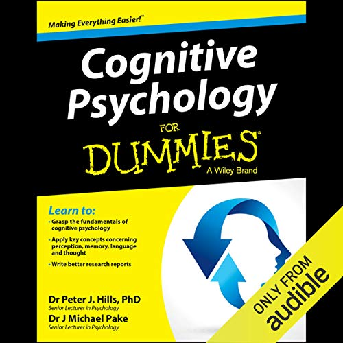 Cognitive Psychology for Dummies audiobook cover art