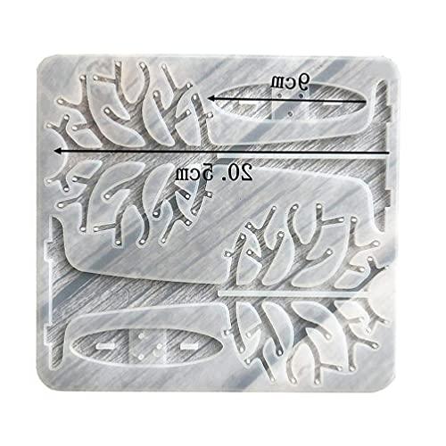 Formy silikonowe Boji, kolczyki choinkowe Półka ekspozycyjna Forma żywiczna Uchwyt na biżuterię Forma silikonowa Uchwyt na biżuterię Formy silikonowe