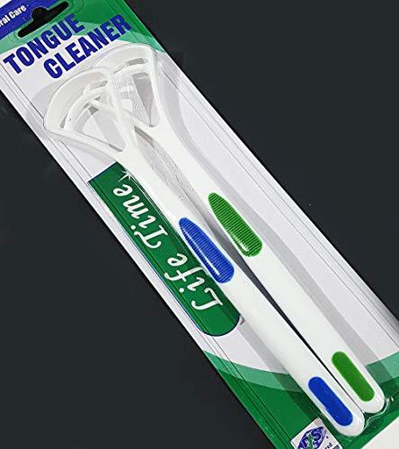 St@llion 2 x Limpiador de lengua suave cepillo dental cuidad