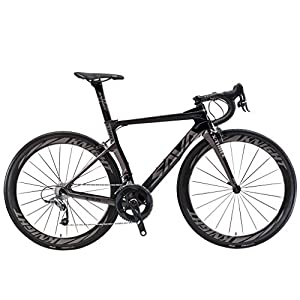 Road Bikes SAVADECK Phantom3.0 Carbon Road Bike 700C Carbon Fiber Racing Bike Full Carbon Bicycle with Shimano Ultegra R8000 22…