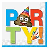 Unique Party 50912celebración Emoji papel...