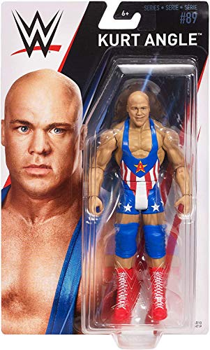 HP UK WWE - Series 89 - Kurt Angle - Action Figure, bring home the action of the WWE - Approx 6'