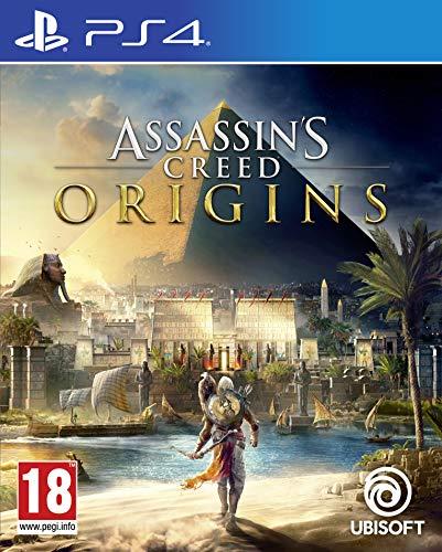 Ubisoft Assassin's Creed Origins, PS4 Básico PlayStation 4 vídeo - Juego (PS4, PlayStation 4, Acción / Aventura, RP (Clasificación pendiente))
