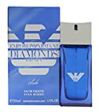 Giorgio Armani Giorgio armani emporio armani diamonds club for him eau de toilette 1.7oz (50ml) spray, 1.7 Fluid Ounce