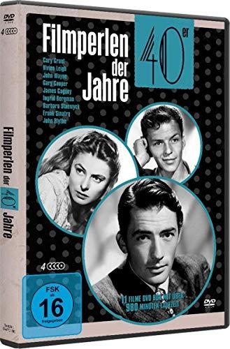 Filmperlen der 40er Jahre : Ich kämpfe um dich - Anna Karenina - Sein Mädchen für besondere Fälle & 8 weitere 4DVD Box