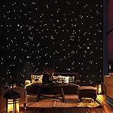 Wandtattoo-Loft 350 Leuchtpunkte und Leuchtsterne für