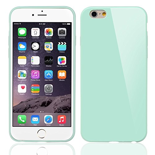 iPhone 6S / 6 Hülle , Bestwe TPU Soft Hülle Hülle Cover Skin Schutzhülle für Apple iPhone 6S / 6 (4,7 Zoll, Turquoise türkis)