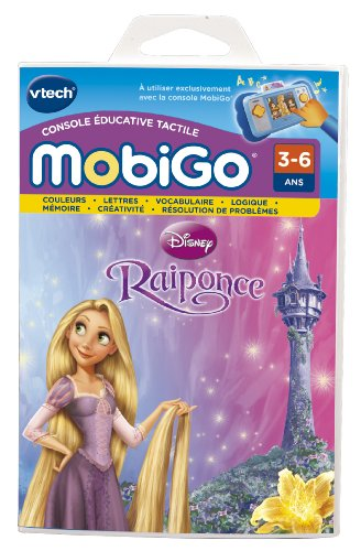 Vtech - 251705 - Jeu Éducatif Électronique - Jeu Mobigo - Princesse Raiponce