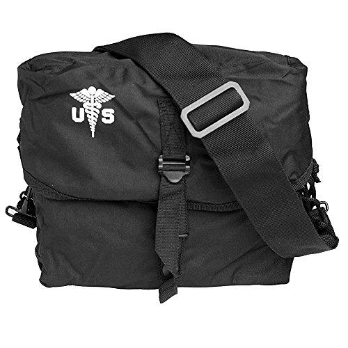 Mil-Tec US - Bolsa de transporte para kit médico con correa, diseño militar, color - negro, tamaño uni