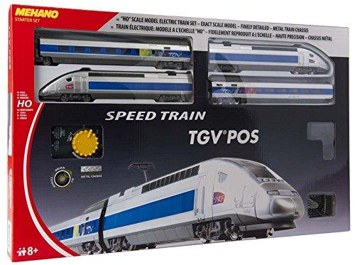 Mehano TGV POS - Set trenino elettrico modello in scala HO
