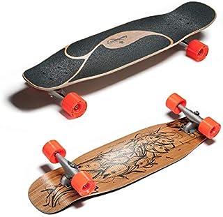 (ローデッド) LOADED ロングスケートボード コンプリート [POKE] W/CARVERS CX.4&NIPPLES
