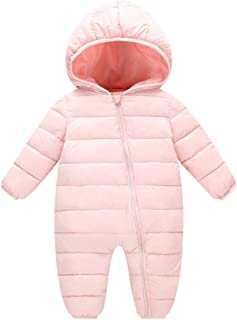 VEKDONE Baby Boys Girls Kids Rompers Winter Thick Cotton Warm Clothes Jumpsuit