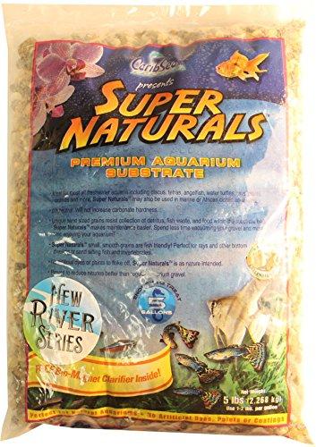 CaribSea Aquatics 36889 Super Naturals Sri Lanka Gravel, 5 lb