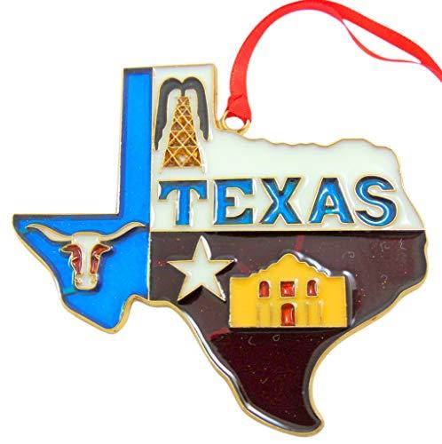 Westmon Works Texas Ornament Christmas Tree Decoration Lone Star Alamo Souvenir Gift