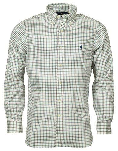 Polo Ralph Lauren Men's Classic Fit Oxford Button-Down Shirt - Cream Multi - L