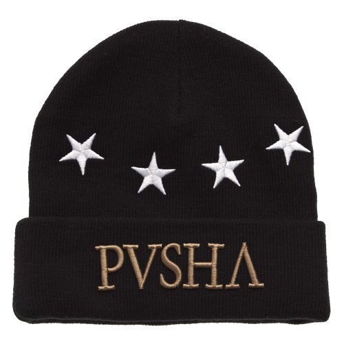 Cayler And Sons - Bonnet Homme Pusha Beanie - Black/White/Gold