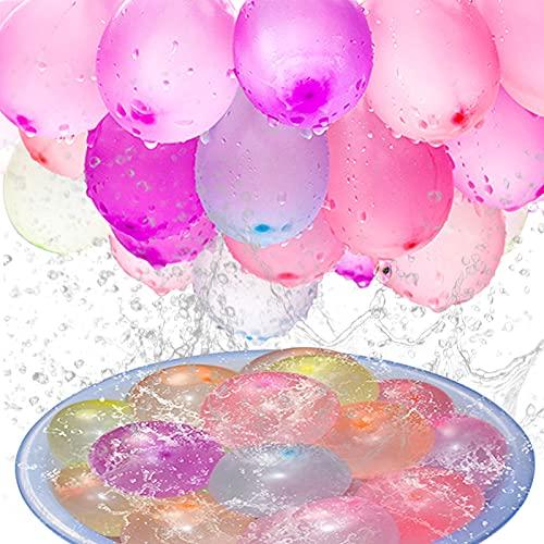 222 Pcs Palloncini d'Acqua Gavettoni Bombe ad Acqua Palloncini ad Acqua Colorati a Riempimento Rapido,Water Balloons,Autosigillanti Senza Grovigli Palloncini Giocattoli per Bambini e Adulti