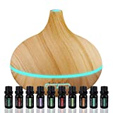 Best Oil Diffusers - Ultimate Aromatherapy Diffuser & Essential Oil Set Review