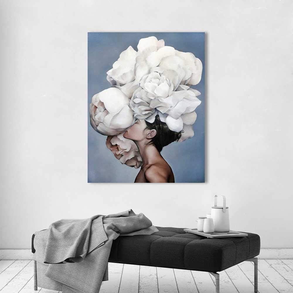 TANXM Arte De Pared Pintura Lienzo Imagen Paisaje Impresión Timelapse Noche Ciudad Imagen Sala De Estar Decoración del Hogar Sin Marco