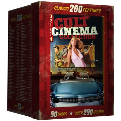 Drive-In Cult Classics Collection - 200 Film Set [DVD] [Region 1] [NTSC] [US Import]