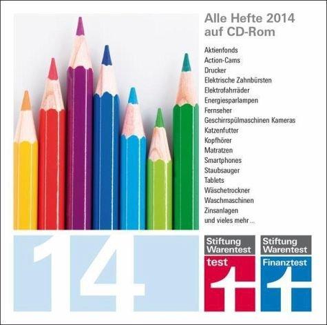 test und Finanztest Archiv CD-Rom 2014 : für PC. Mac und Linux [import allemand]