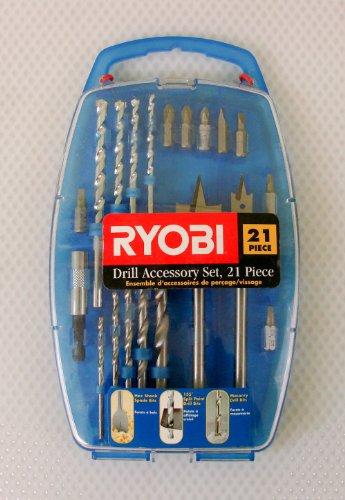 Ryobi 21 pc. Drill Accessory Set HSS79491RYC