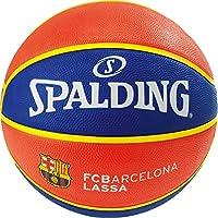 Spalding El Team FC Barcelona SZ.7 (83-776z) Basketball Ball Jeunesse, Mixte, Bleu/Rouge, 7