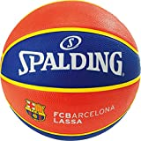 Spalding EL Team FC Barcelona SZ.7 (83-776Z) Basketballs, Juventud Unisex, Blue/Red, 7